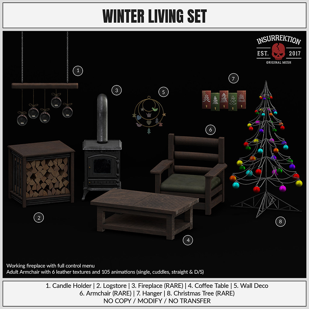 [IK] Winter Living Set - TeleportHub.com Live!