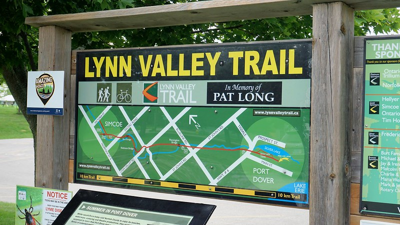 Lynn Valley Trail, from Bridge Alley, Port Dover