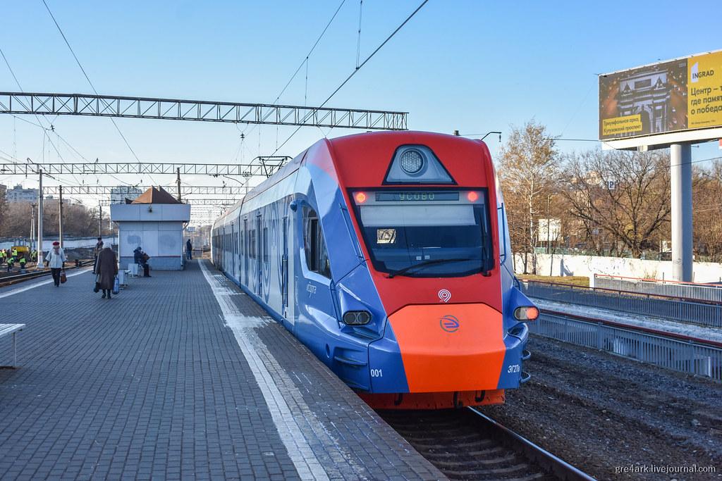 Иволга — поезд наземного метро