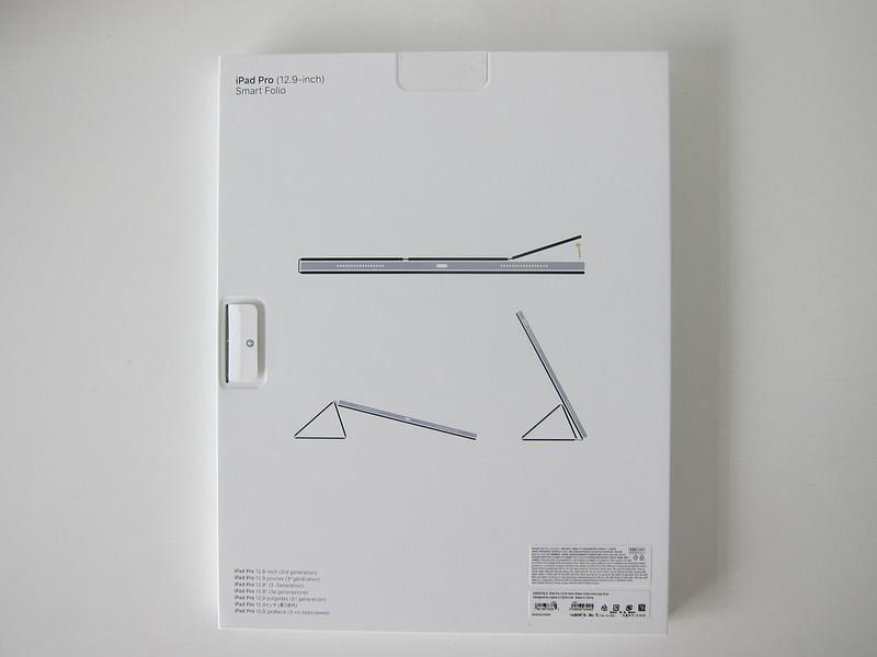 Apple iPad Pro 12.9-inch (3rd Generation) Smart Folio (Charcoal Grey) - Box Back