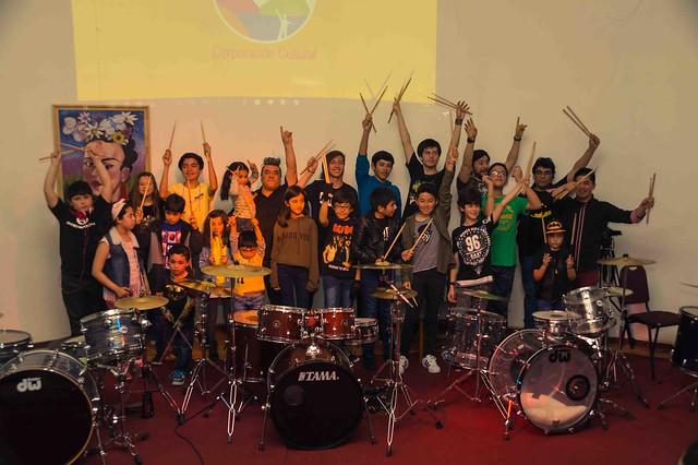 Gala de bateria Manuel Basualto noviembre 2018
