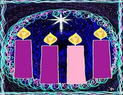 Advent 4 spiral