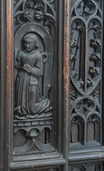 return stalls: donor (15th Century)