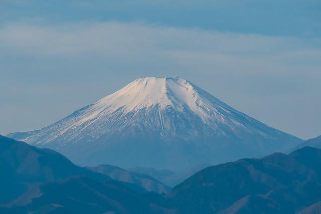 今日の富士山は・・・@高尾山