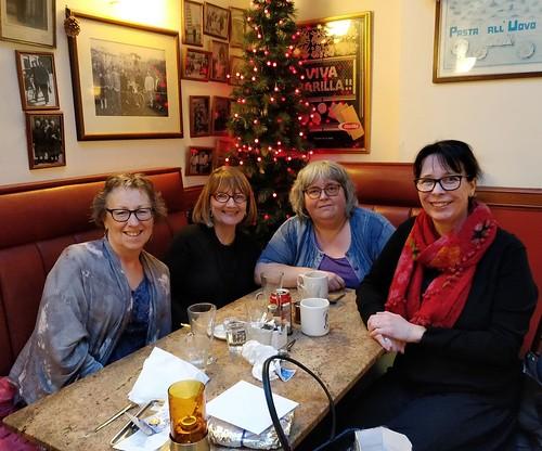 Moira McPartlin, Alex Nye, Bookwitch and Helen Grant