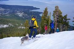 Rubicon Peak backcountry splitboard