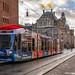 Amsterdam Sky Radio Christmas tram 2058 by Rob Dammers
