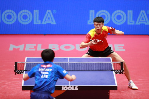 Junior Boys' Singles - Finals at the2018 World Junior Table Tennis Championships