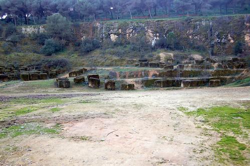 cantera romana en posadas españa