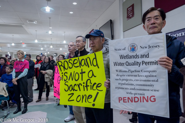 Public hearing on Williams 206 compressor station proposal