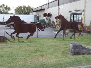 Metal Horse Figures 2of2