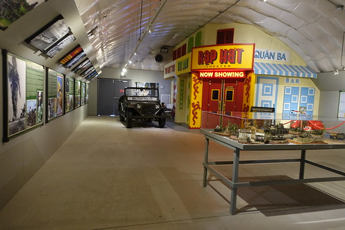 Patriots Point Inside Quonset Hut at Vietnam Experience. From History Comes Alive in Charleston
