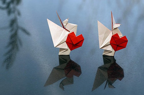 Origami Dove of Friendship (Norio Torimoto)