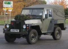 1983 Lightweight Land Rover A565 PNA, in Weldon Northants