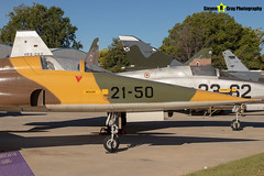 A9-050-21-50---2050---Spanish-Air-Force---CASA-SF-5A-Freedom-Fighter---Madrid---181007---Steven-Gray---IMG_1628-watermarked