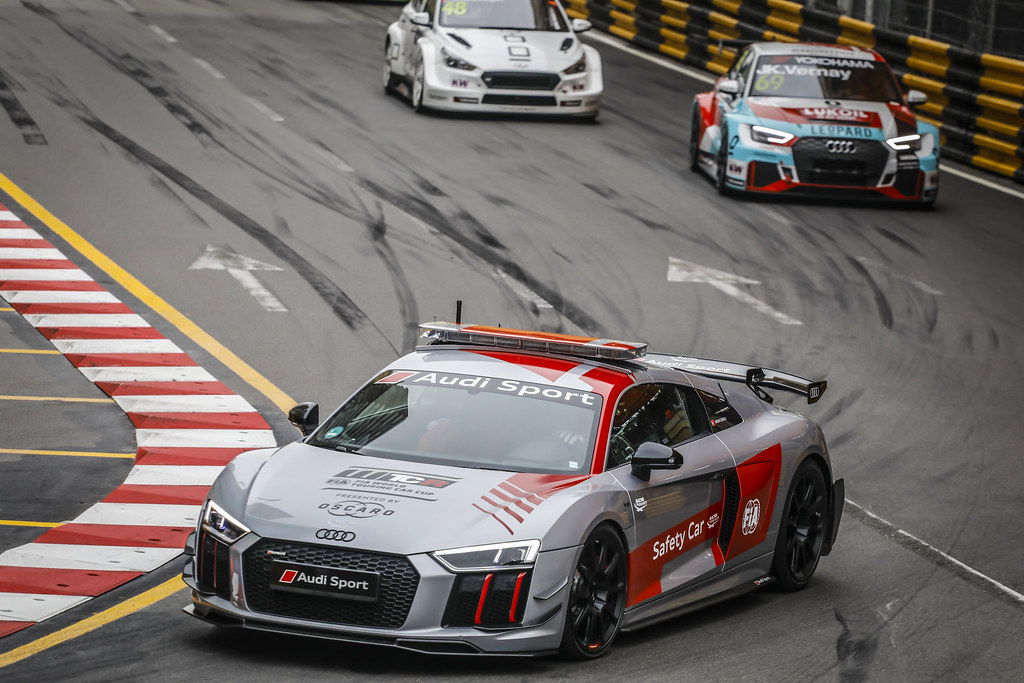voiture de securite safety car during the 2018 FIA WTCR World Touring Car cup of Macau, Circuito da Guia, from november  15 to 18 - Photo Francois Flamand / DPPI