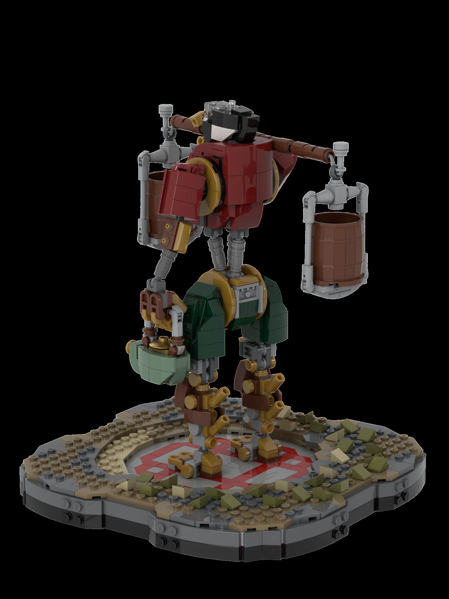 лего фермер робот
