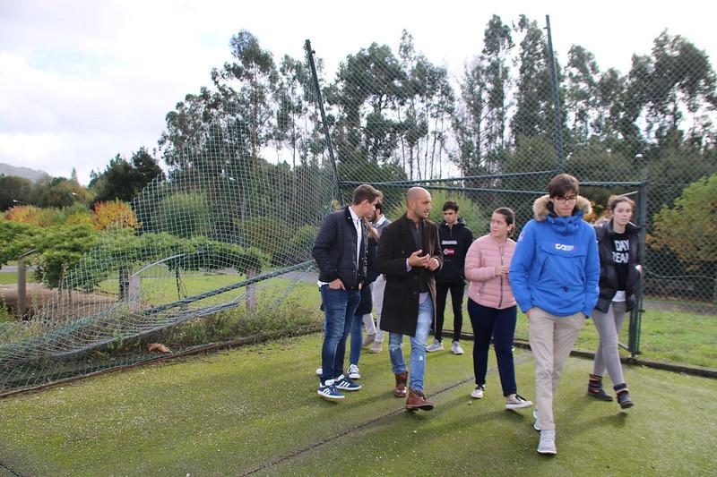 NNXX Porriño reclama arranxo pistas deportivas Parque do Piñeiro