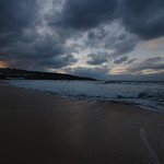 20. November 2018 - 19:04 - Porthmeor Beach, St Ives - sunset cloudscape