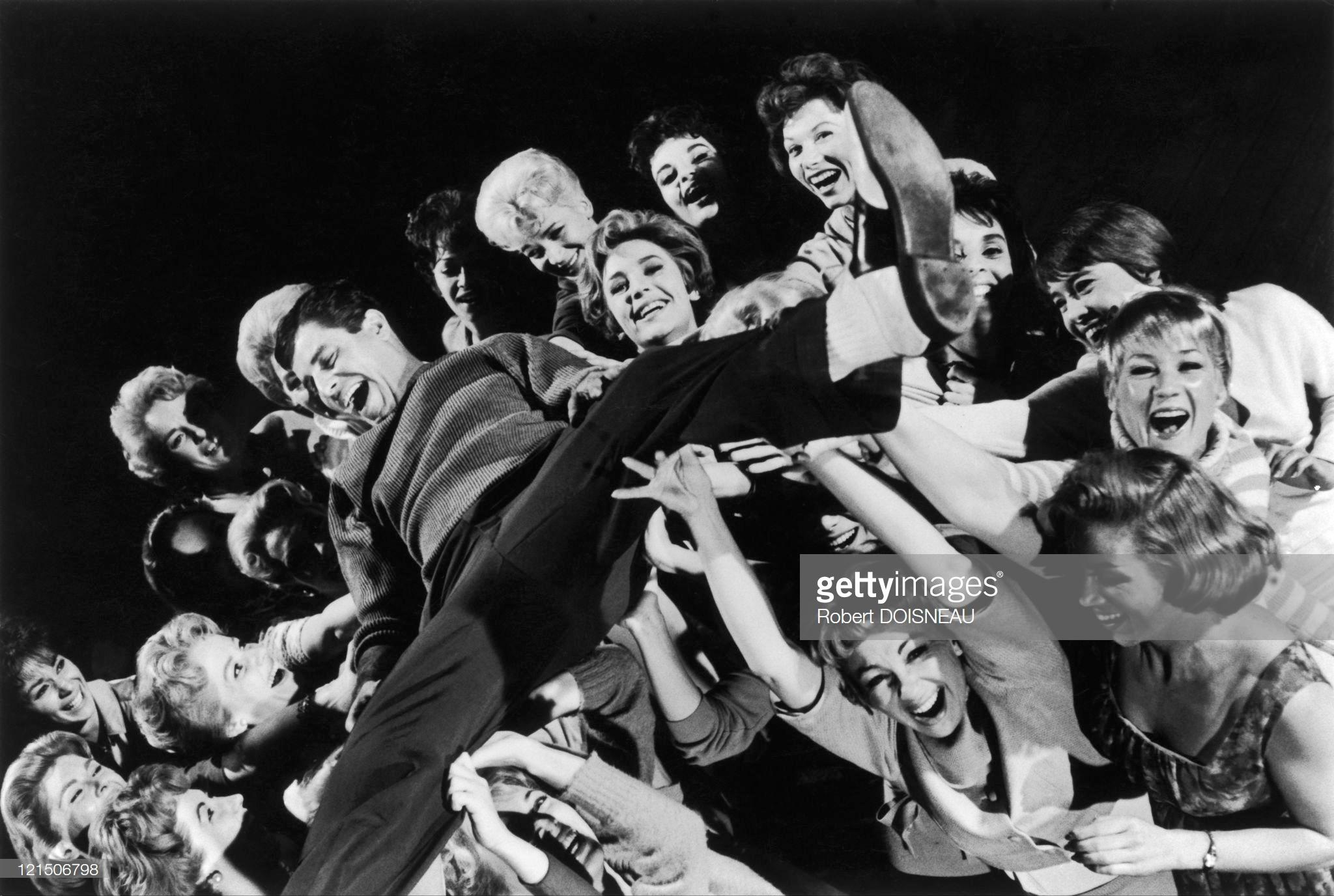 1960. Актер Джерри Льюис, Голливуд