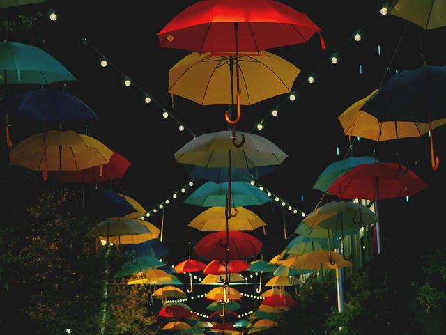 Umbrellas, Panasonic DMC-G7, LUMIX G 25/F1.7