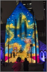 Projected Image on to St Stephens Cathedral-2=