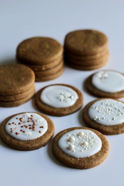 coffee-cardamom cookies