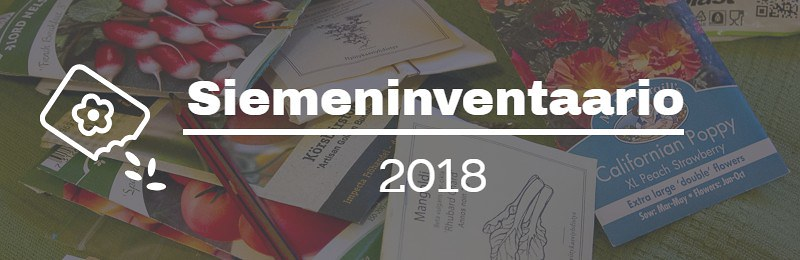 seed inventory 2018