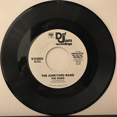 THE JUNKYARD BAND:THE WORD(RECORD SIDE-B)
