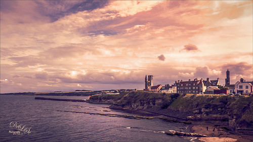Image of a View of Old St. Andrews in Scotland