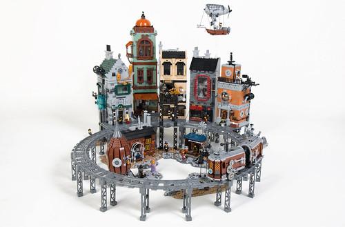 Steampunk Moon City