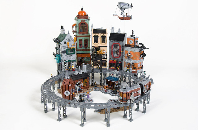 Steampunk Moon City