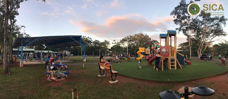 Inauguran obras de convivencia en Alajuela, Costa Rica