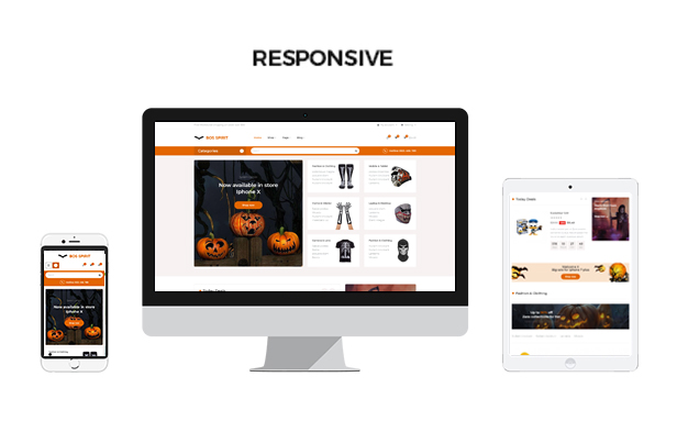 Ap Bosspirit Prestashop Halloween Themed Gifts - Fully responsive