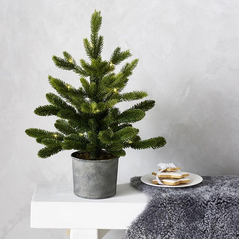 The White Company Mini Lit Christmas Tree