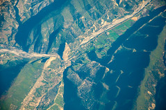 Entrevaux from above - Photo of Annot