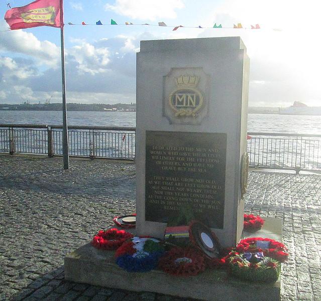 Merchant Navy Memorial, Liverpool