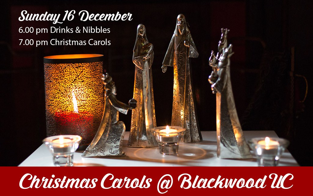 Christmas Carols at Blackwood Uniting Church, 16 December 2018, 6pm for 7pm