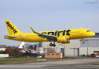 F-WWDJ Airbus A320 Neo Spirit