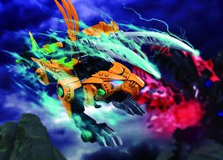 和我的靈魂一起咆哮吧!TAKARA TOMY 洛伊德新系列《ZOIDS WILD》ZW19  利牙劍齒虎(ゾイドワイルド ファングタイガー)