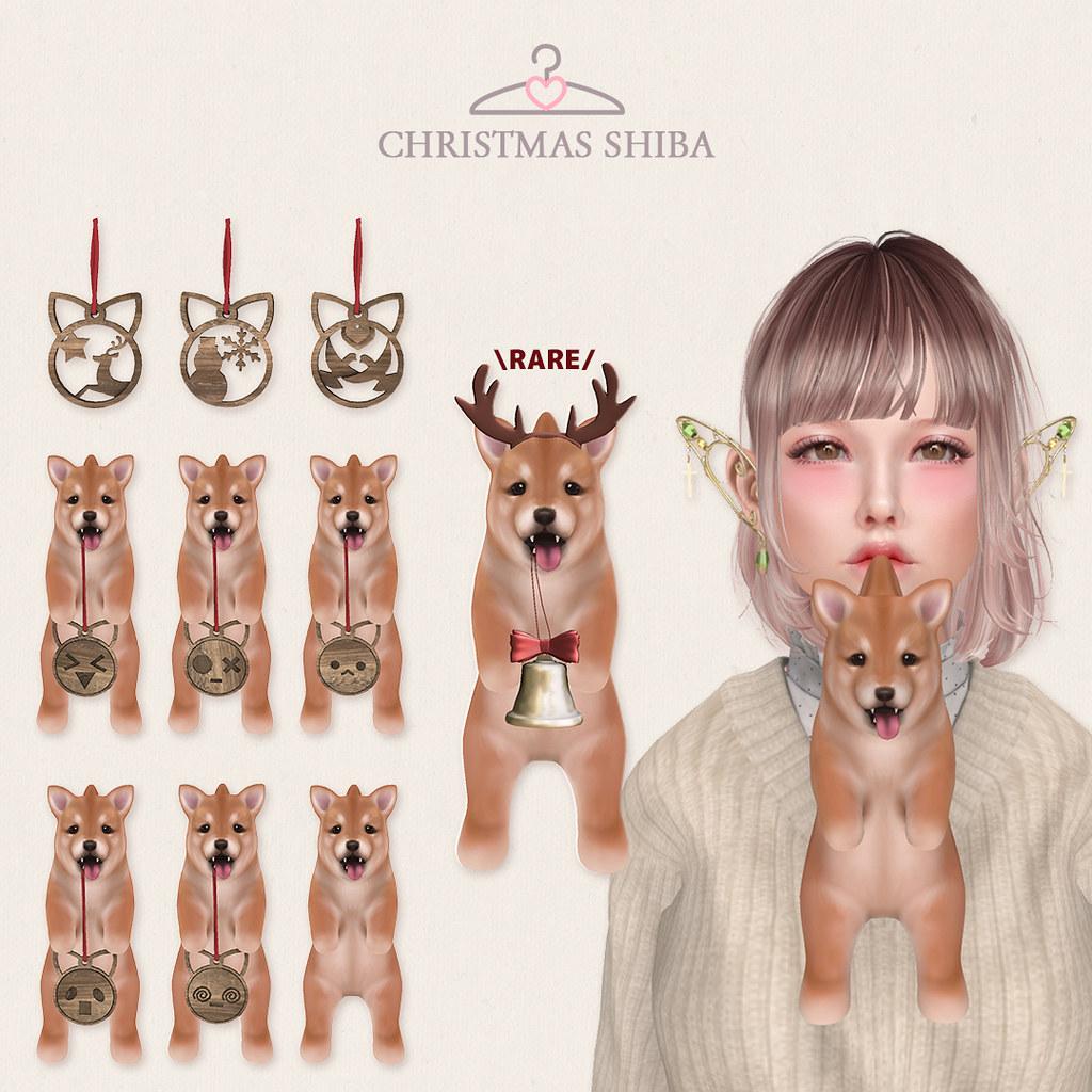 [MALO] Christmas Shiba Gacha @ Harajuku