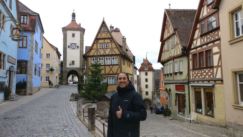 The most picturesque, photographed and painted place in Rothenburg ob der Tauber