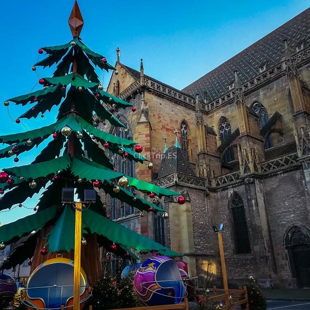 · Qué ver en Colmar en un día · Ruta de un día por Colmar · Catedral de San Martin ·