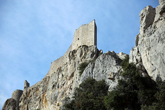 Peyrepertuse. - Photo of Saint-Arnac