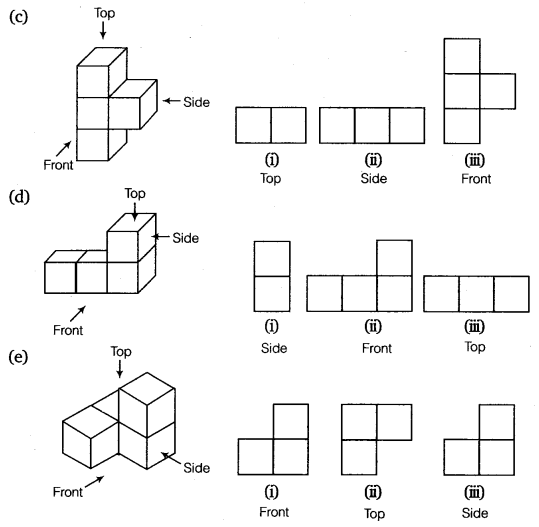 NCERT Solutions for Class 8 Maths Chapter 10 Visualising Solid Shapes 11