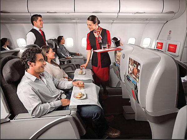 Avianca servicio Business Class A330 (Avianca)