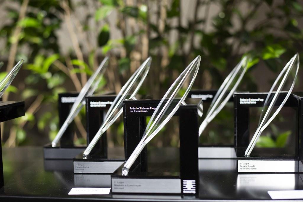 Entrega do 5º Prêmio Sistema Fiep de Jornalismo