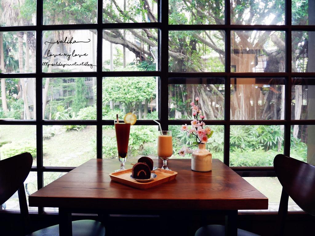 台北中正區南昌陸古亭站不限時咖啡館推薦陸軍聯誼廳雅鴿書院下午茶 (11)