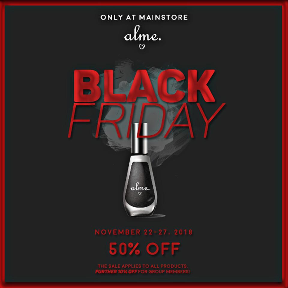 Alme goes BLACK...Friday <3 - TeleportHub.com Live!