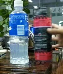 How to relabel a water bottle   VIDEO